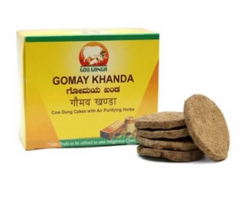 Cow Dung Cakes 36 Nos-Gou Ganga