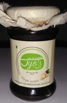 Ginger Pickle 150 Gms-Jyos