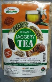 Jaggery Tea 100 Gms - Gau Naturals