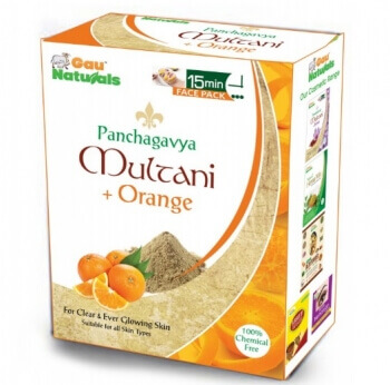 Multani Orange Face Pack 100 Gms - Gau Naturals