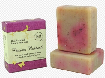 Precious Patachouli Soap 100 Gms- SOS Organics