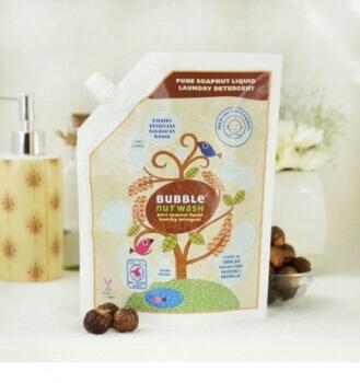 Pure Soapnut Liquid Laundry Detergent 750 Ml-Bubble Nut