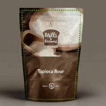 Tapioca Flour 250 Gms-Mills & Browns