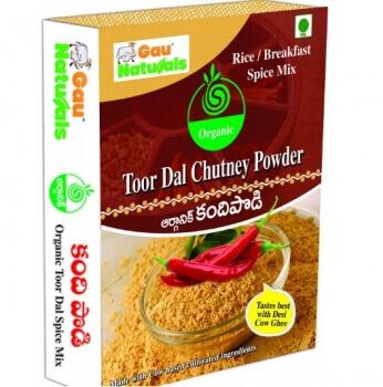 Toordal Chutney Powder 200 Gms -Gau Naturals