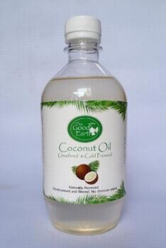 Coconut Oil 500 Ml- The Good Earth