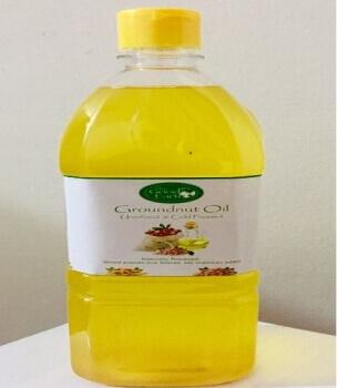 Groundnut Oil 500 Ml - The Good Earth