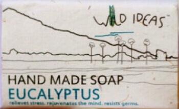 Hand Made Soap Eucalyptus 100 Gms- Wild Ideas