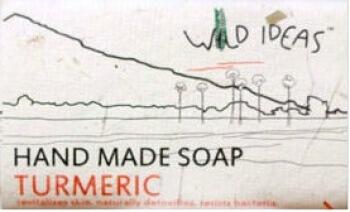 Hand Made Soap Turmeric 40 Gms- Wild Ideas