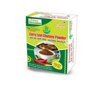 Curry Leaf Chutney Powder 200 Gms-Gau Naturals