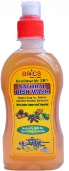Natural Dish Wash 550 Ml-Brics