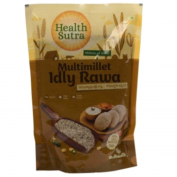 Multimillet Idly Rava 500 Gms - Health Sutra