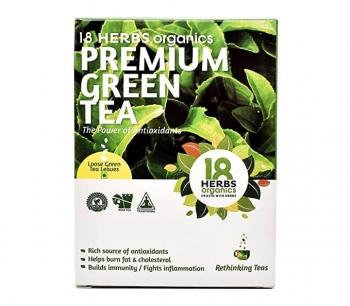 Premium Green Tea 40 Gms - 18 Herbs