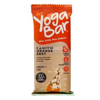 Cashew Orange Zest 38 Gms-Yoga Bar