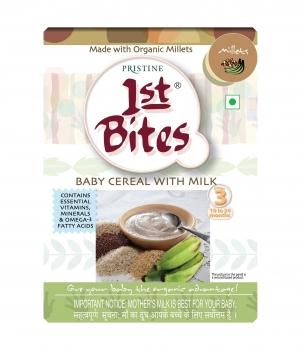 1st Bites Mixed Millet & Banana 300 Gms - Prestine
