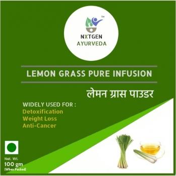 Lemon Grass Pure Infusion 100 Gms - NXTGEN Ayurveda