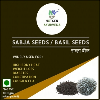 Sabja Seeds 200 Gms - NXTGEN Ayurveda