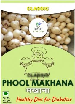 Phool Makhana 100 Gms - NXTGEN Ayurveda