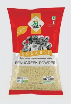 Fenugreek Powder 100 Gms - 24 Mantra