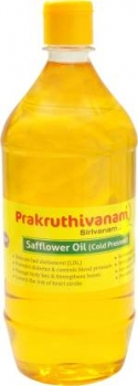 Safflower Oil 1 Ltr - Prakruthivanam