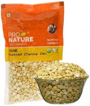 Roasted Channa Dal 500 Gms - Pro Nature