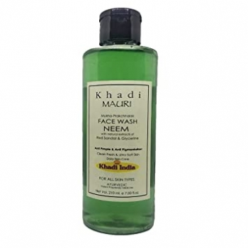 Neem Face Wash 210 Ml- Khadi