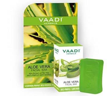 Aloe Vera Facial Bar 25 Gms - Vaadi