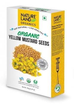 Mustard Yellow 150 Gms - Nature Land