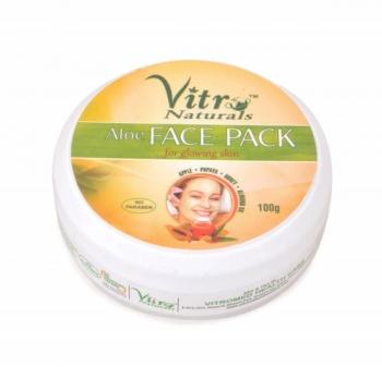 ALoe Face Pack 100 Gms-Vitro Naturals