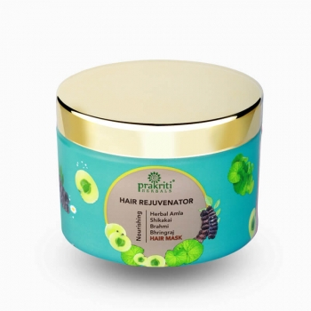 Amla Brahmi Bhringraj Hair Rejuvenator 150 Gms - Prakriti Herbals