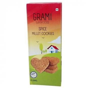 Spice Millet Cookies 75 Gms - Grami