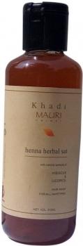 Heena Sat Shampoo 210 Ml - Khadi