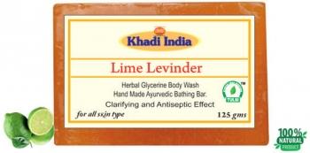 Lime Lavander Soap 125 Gms - Khadi