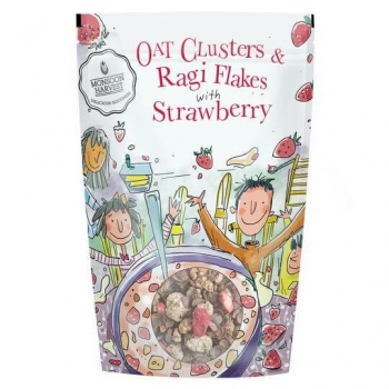 Cereal Strawberry 350 Gms-Monsoon Harvest
