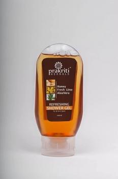 Fresh Lime Shower Gel 120 Ml - Prakriti Herbals
