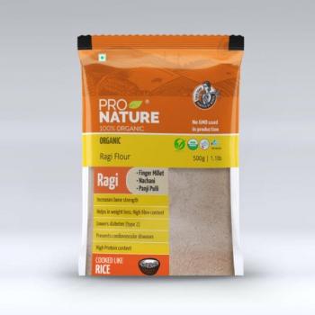 Ragi Flour 500 Gms - Pro Nature