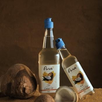 Coconut Oil 1 Ltr - Purva Naturals
