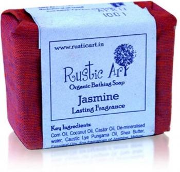 Jasmine Soap 100 Gms - Rustic Art