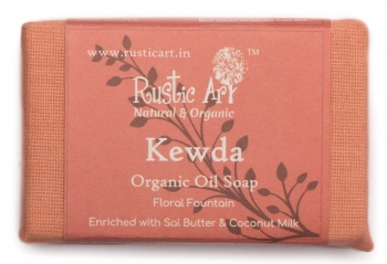 Kewda Soap 100 Gms - Rustic Art