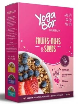 Muesli Fruits Nuts And Seeds 400 Gms - Yoga Bar