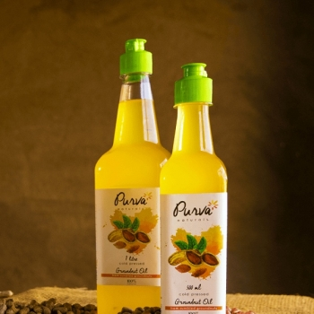 Groundnut Oil 500 Ml - Purva Naturals