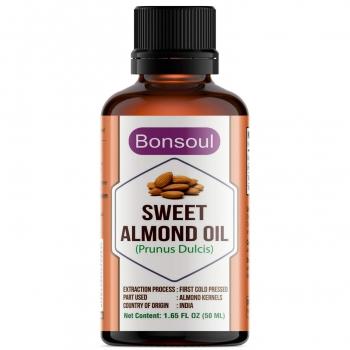 Sweet Almond Oil 100 Ml - Bonsoul