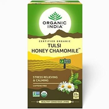 Tulsi Honey Chamomile 25 Bags - Organic India