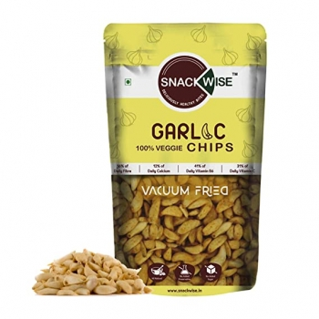 Garlic Chips 30 Gms - Snackwise