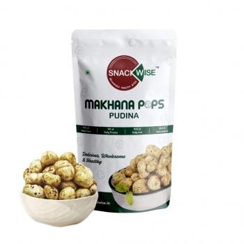 Makhana Pudina 40 Gms - Snackwise