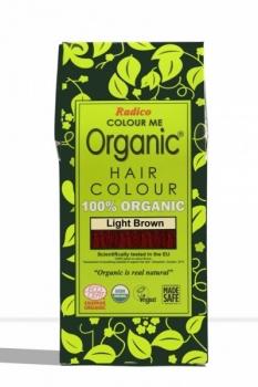 Hair Colour Light Brown 100 Gms - Radico