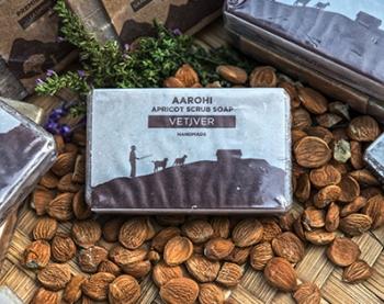 Vetiver Soap 70 Gms - Aarohi
