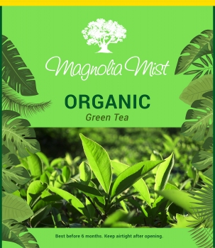 Whole Leaf Green Tea 250 Gms - Magnolia Mist