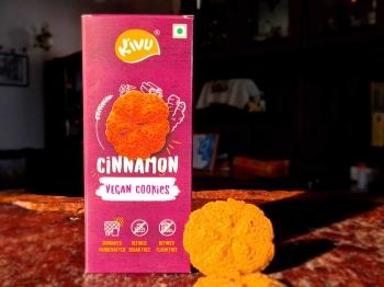 Cinnamon Vegan Cookies 150 Gms - Kivu