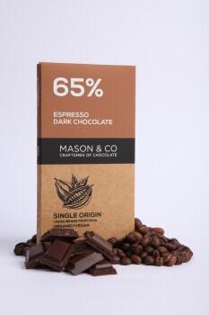 Espresso Dark Chocolate 70 Gms-Mason