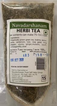 Herbi Tea 100 Gms-Navadarshanam
